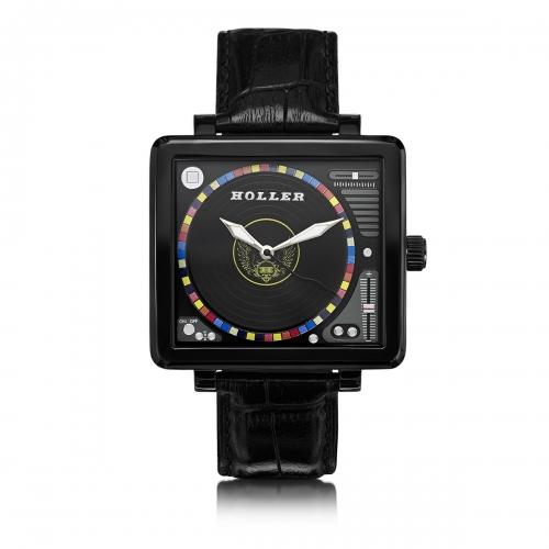 Ex-Display Holler Techno Black Watch EXD-HLW2350-3