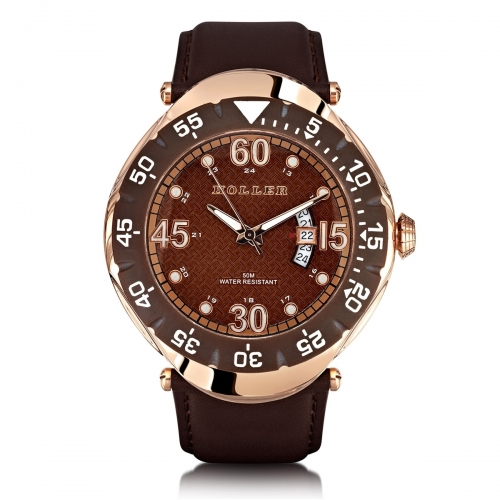 Ex-Display Holler Goldwax Rose Gold Watch EXD-HLW2188-1
