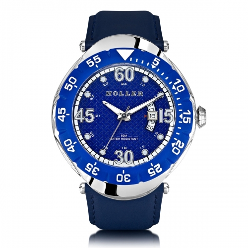 Ex-Display Holler Goldwax Blue Watch EXD-HLW2188-5