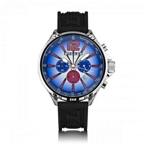 Ex-Display Holler Psychedelics Blue A/O Watch EXD-HLW2280-10
