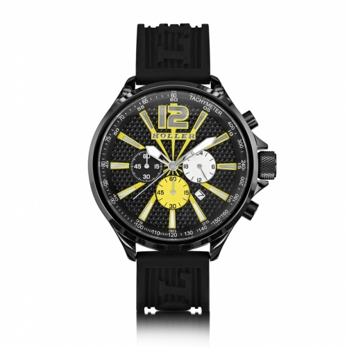 Ex-Display Holler Psychedelic Black Watch EXD-HLW2280-15