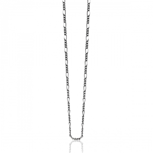 Zinzi Sterling Silver Figaro 70cm Necklace ZI70FIG