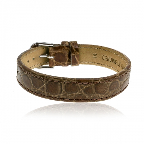 Love Letters Brown Genuine Leather Strap LL-BR-08