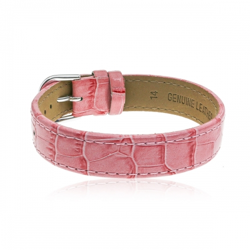 Love Letters Pink Genuine Leather Strap LL-BR-01