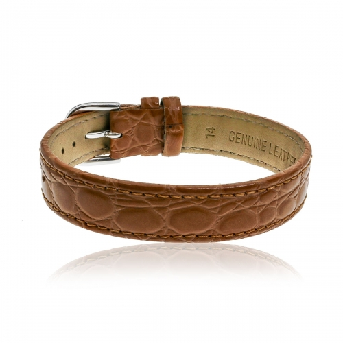 Love Letters Camel Brown Genuine Leather Strap LL-BR-07