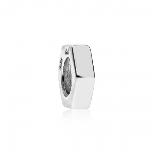 EX DISPLAY: Pandora Hexagonal Silver Spacer 790154