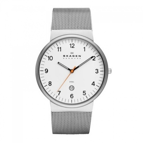 Skagen Ancher Relaxed White & Silver Watch SKW6025