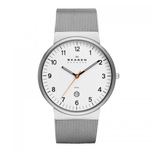 Skagen Ancher Relaxed White & Silver Watch SKW6025