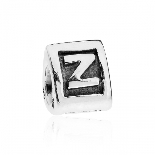EX DISPLAY: Pandora Alpha Z Silver Initial Charm 790323Z