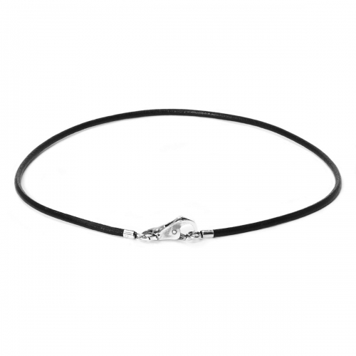 Trollbead Black Leather Necklace L3102