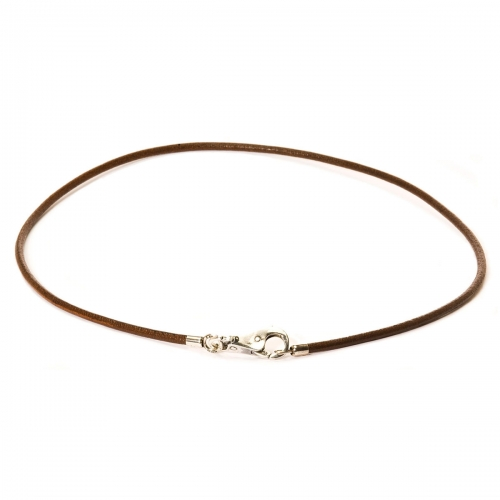 Trollbead Brown Leather Necklace L3101