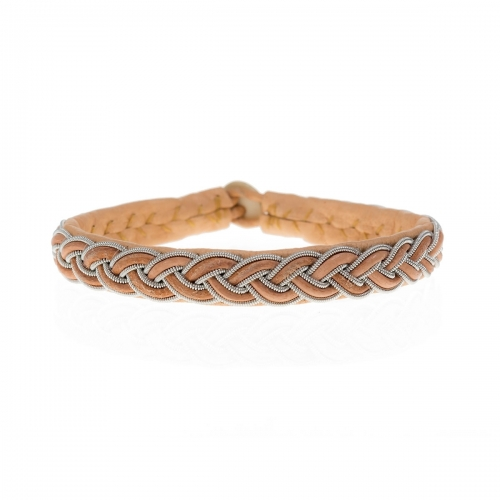 Be Christensen Boda Tan Leather Bracelet