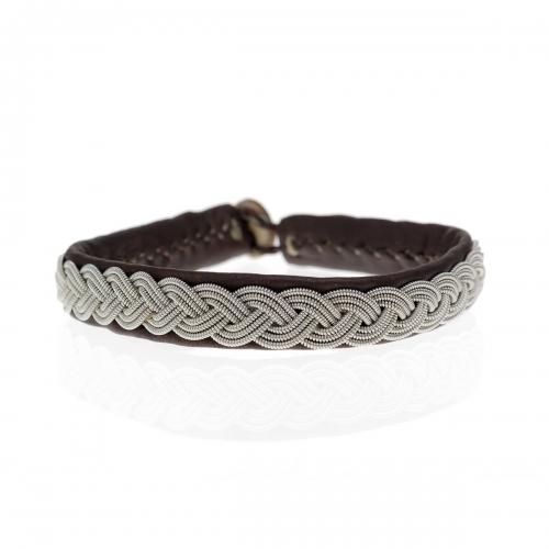 Be Christensen Arctic Brown Leather Bracelet