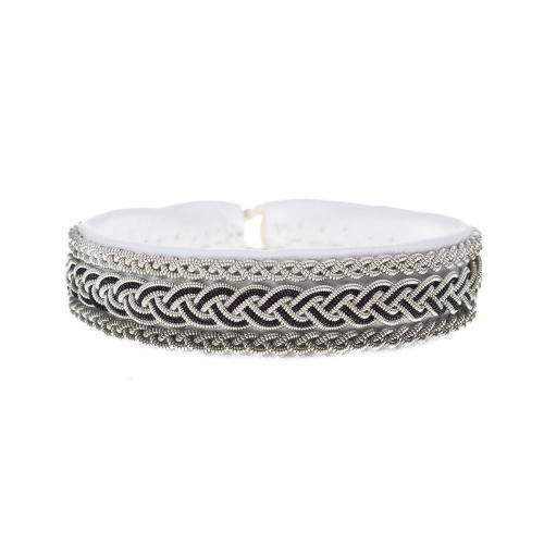 Be Christensen Tema White Leather Bracelet