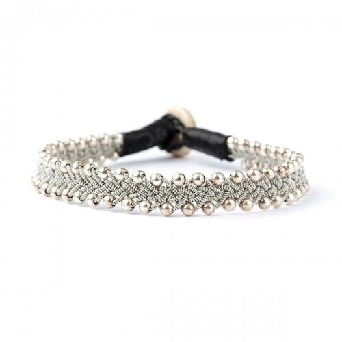 Be Christensen Maria Silver & White Gold Bracelet
