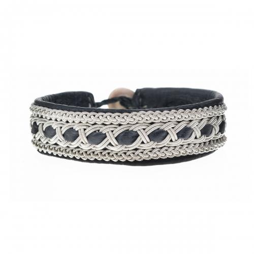 Be Christensen Tanga Black Leather Bracelet