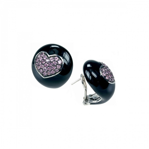 Belle Etoile Black Kiss Earrings