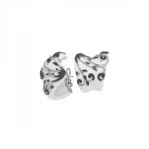 Belle Etoile White Anastacia Earrings