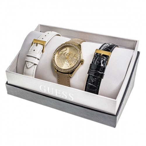 Guess Little Party Girl Watch Set W0201L3