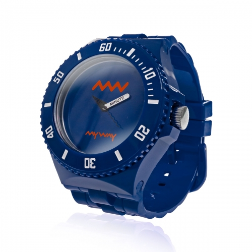 MyWayMyWatch Blue Interchangeable Unisex Watch MW-C2-Blue