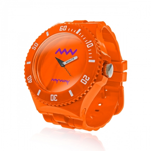 MyWayMyWatch Orange Interchangeable Unisex Watch MW-C2-Orange