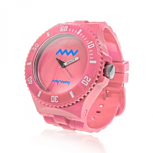MyWayMyWatch Pink Interchangeable Unisex Watch MW-C2-Pink