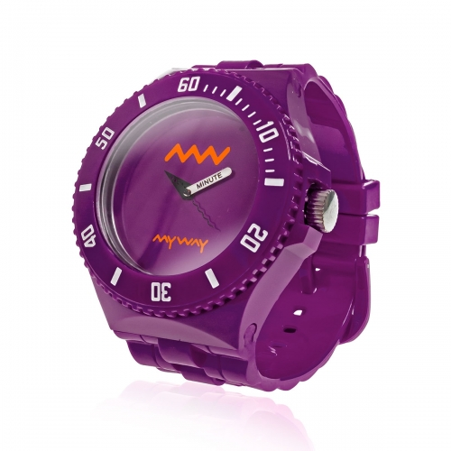 MyWayMyWatch Purple Interchangeable Unisex Watch MW-C2-Purple