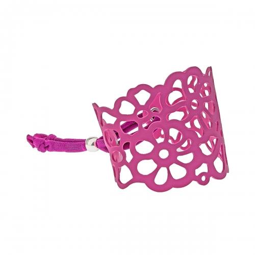Tatu by Niente Paura Pink Flower Bracelet NP-Pink001