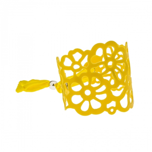 Tatu by Niente Paura Yellow Flower Bracelet NP-Yellow001
