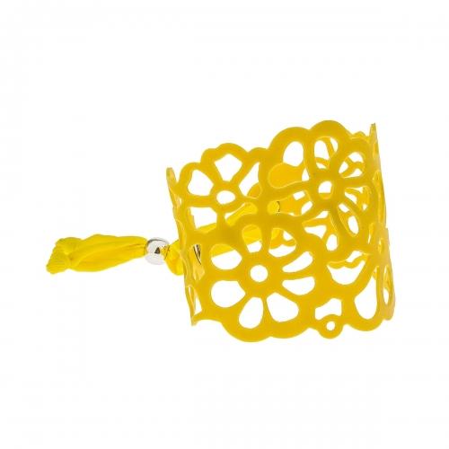 Tatu by Niente Paura Yellow Flower Bracelet NP-Yellow001