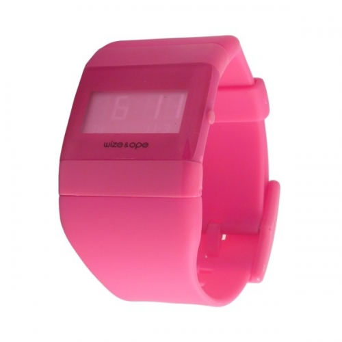 WIZE AND OPE CLASSIC PINK DIGITAL WATCH WO-ALL-17