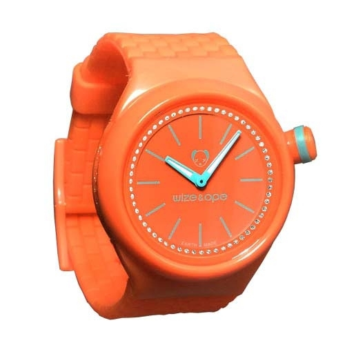 Wize and Ope Club  Orange Shuttle Watch SH-CL-10S
