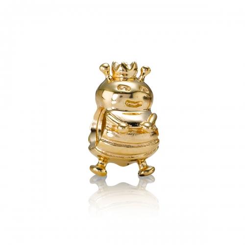 Pandora Queen Bee 14k Gold Charm 750432