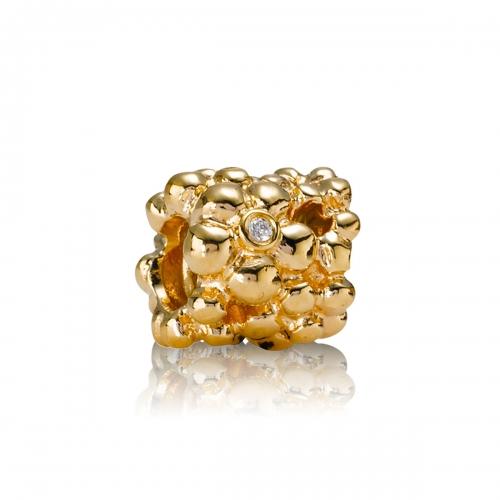 Pandora Diamond Daisy 14k Gold & Diamond Charm 750344D