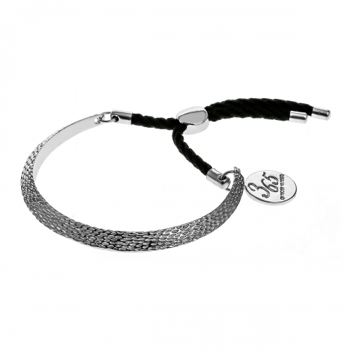 Nicky Vankets Silver Textured Bangle