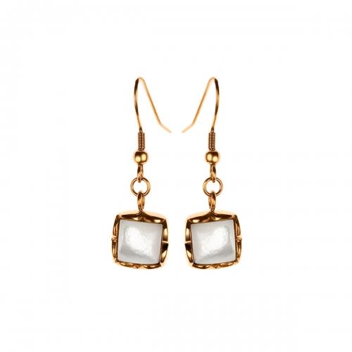 Nicky Vankets Rose Gold Dangle Earrings