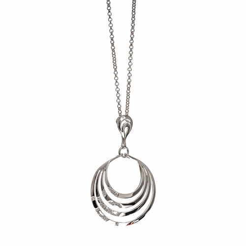 Nicky Vankets Cut-out Circle Necklace
