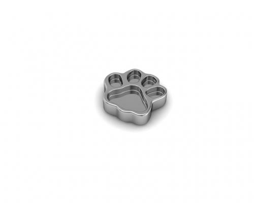 Key Moments Silver Dog Paw Element 8KM-E00004