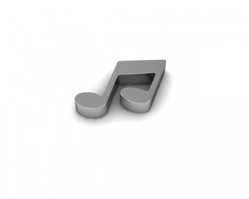 Key Moments Silver Music Element 8KM-E00009