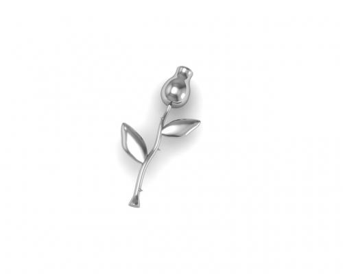 Key Moments Silver Rose Element 8KM-E00012