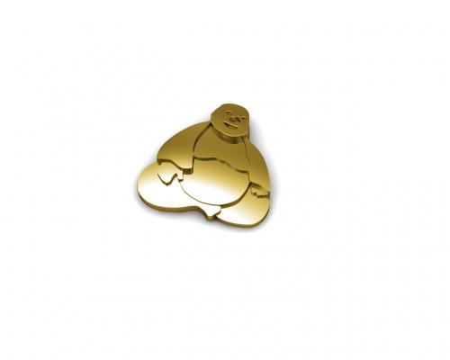 Key Moments Gold Buddha Element 8KM-E00199