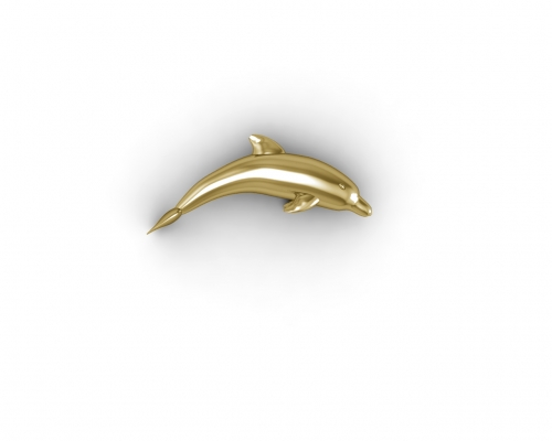 Key Moments Gold Dolphin Element 8KM-E00206