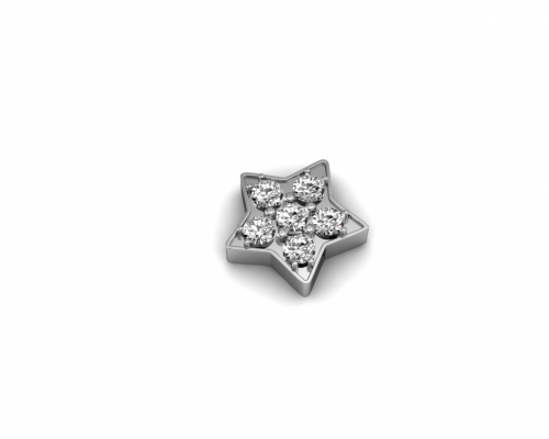 Key Moments Silver Star Stones Element 8KM-E00039