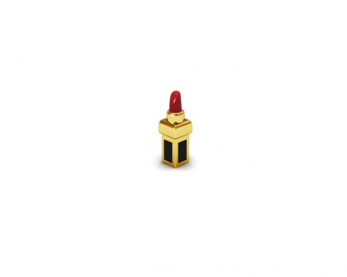 Key Moments Gold Red Lipstick Enamel Element 8KM-E00181