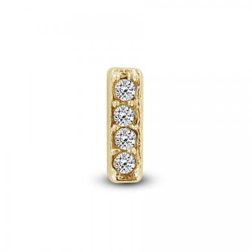 Key Moments Gold Letter I Stones Element 8KM-E00109