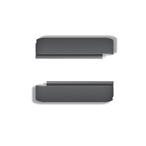 Wize and Ope Dark Grey Exchangeable Plastic Slides SL0004