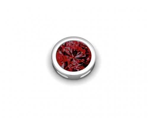 Key Moments January Birthstone Deep Red Stone Element 8KM-E00087