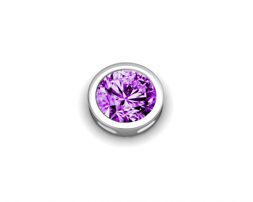 Key Moments February Birthstone Deep Purple Element 8KM-E00088