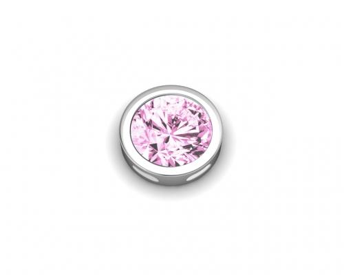 Key Moments June Birthstone Pink Stone Element 8KM-E00092