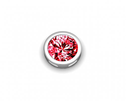 Key Moments July Birthstone Red Stone Element 8KM-E00093